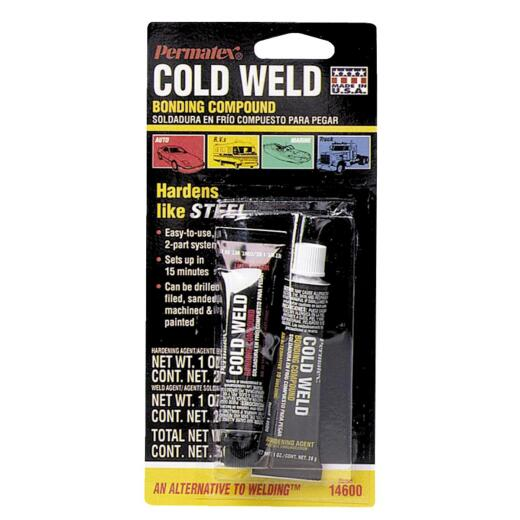 PERMATEX 1 Oz. Cold Weld Bonding Compound Epoxy