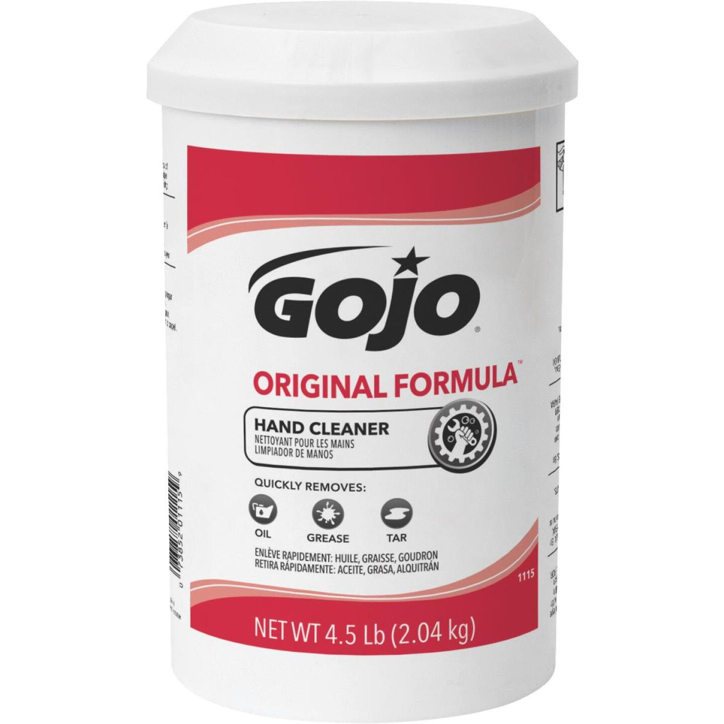 GOJO Smooth 4.5 lb Hand Cleaner Image 1