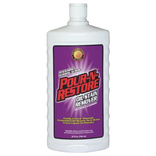 Pour-N-Restore 32 Oz. Concrete And Masonry Oil Stain Remover