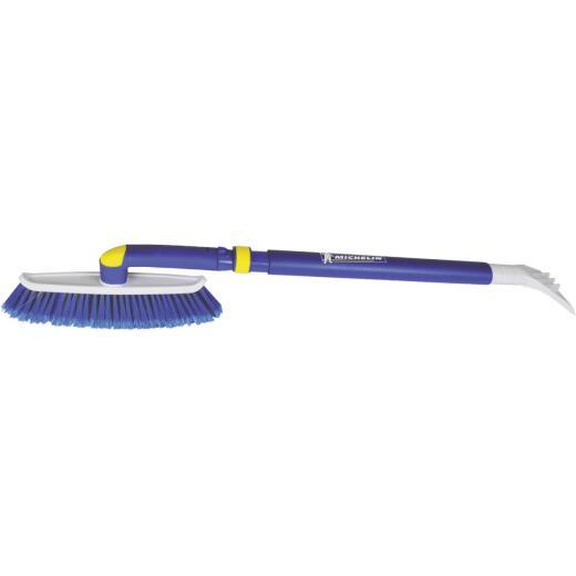 Michelin 48 In. Steel Extender Snowbrush with Ice Scraper