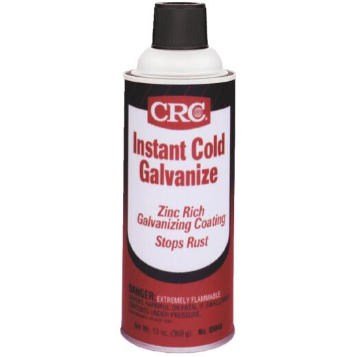 CRC 13 Oz. Gray Instant Cold Galvanized Coating
