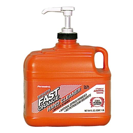 PERMATEX Fast Orange Smooth Orange Citrus Hand Cleaner, 1/2 Gal.