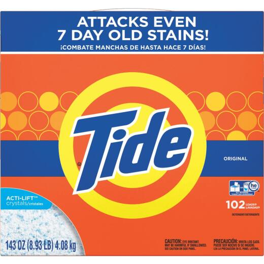 Tide 143 Oz. 102 Load Powder Laundry Detergent