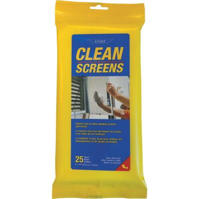 Ettore Window Screen Cleaner (25 Count)