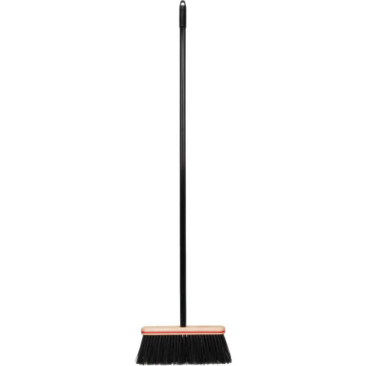 Harper 12 In. W. x 52.5 In. L. Metal Handle Angle Rough Surface Household Broom