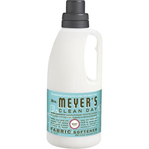 Mrs. Meyer's Clean Day 32 Oz. Basil Fabric Softener