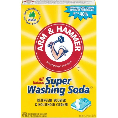Arm & Hammer 55 Oz. Super Washing Soda Laundry Booster