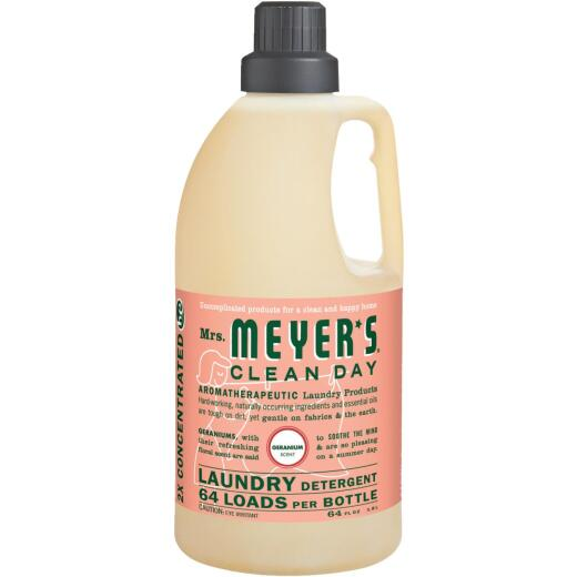 Mrs Meyer's Clean Day 64 Oz. Geranium Concentrated Laundry Detergent