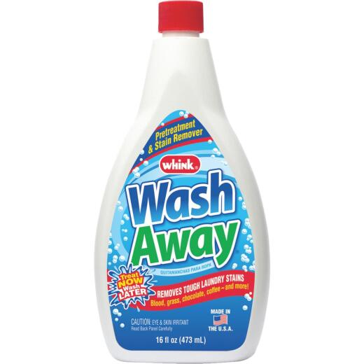 Whink Wash Away 16 Oz. Laundry Stain Remover