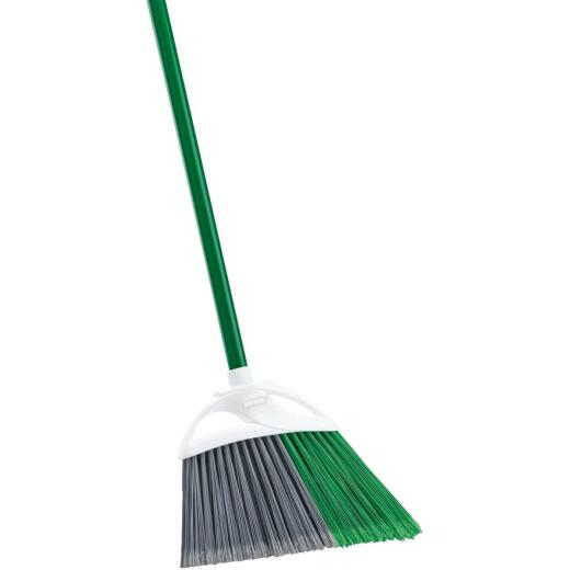 Libman 11 In. W. x 53.5 In. L. Steel Handle Precision Angle Broom
