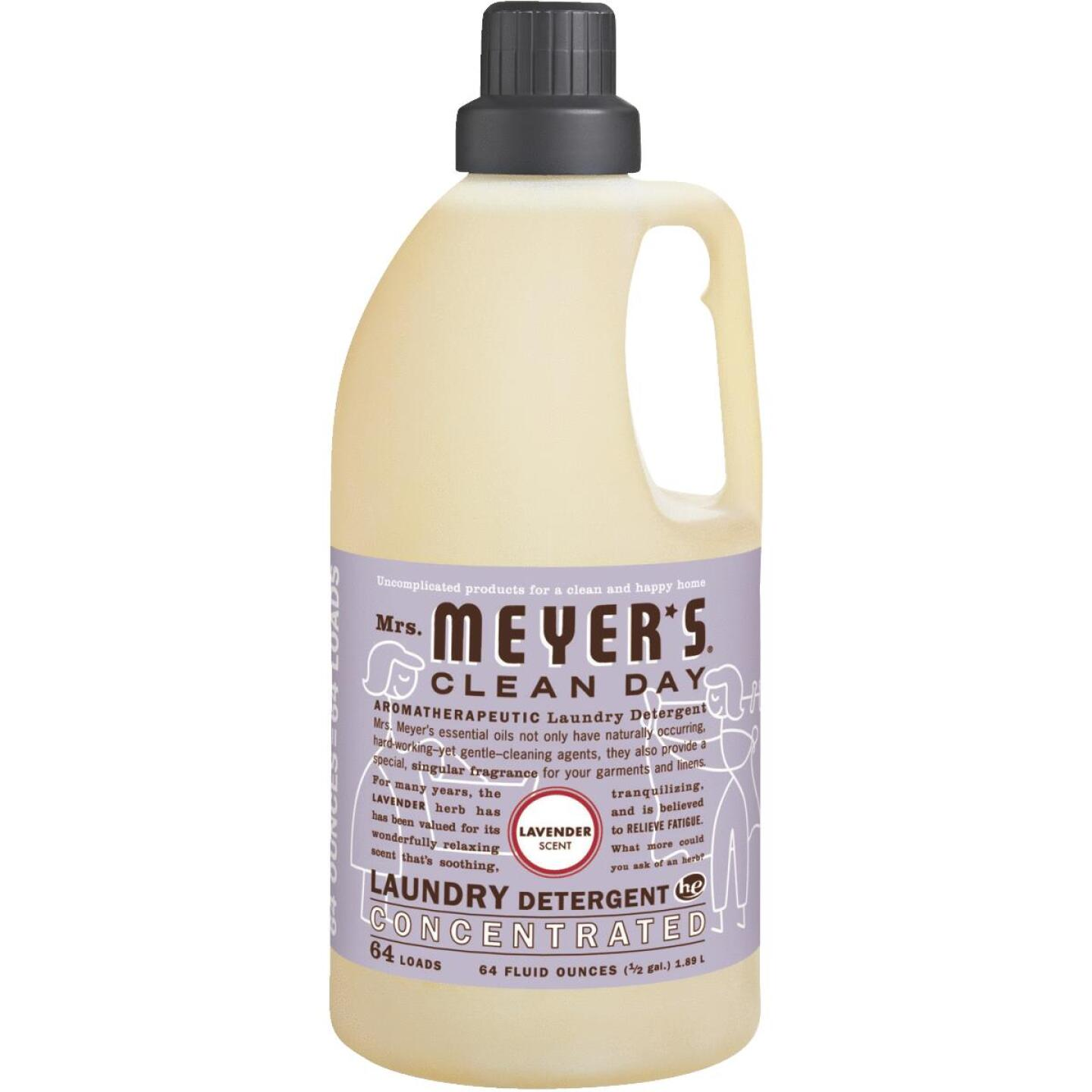 Mrs Meyer's Clean Day 64 Oz. Lavender Concentrated Laundry Detergent Image 1