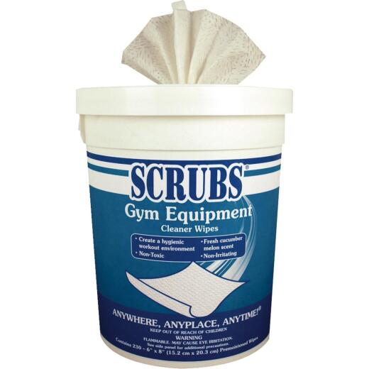 Scrubs Gym Equipment Cleaning Wipes (230 Count)