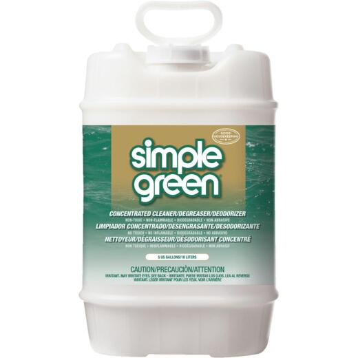 Simple Green 5 Gal. Liquid Concentrate All-Purpose Cleaner & Degreaser