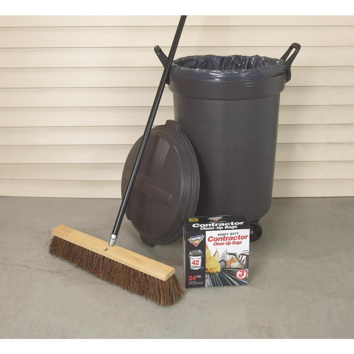 Do it Best 24 In. W. x 60 In. L. Metal Handle Pavement Plus Push Broom Image 2