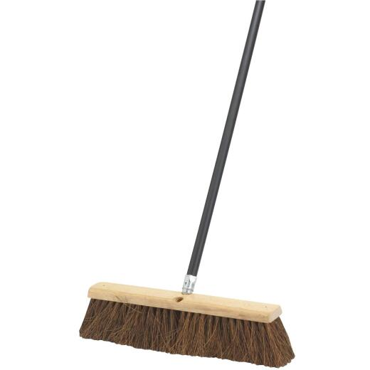 Do it Best 18 In. W. x 60 In. L. Metal Handle Pavement Plus Push Broom