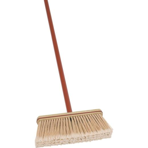 Harper 12 In. Upright Broom with 48 In. Metal Handle