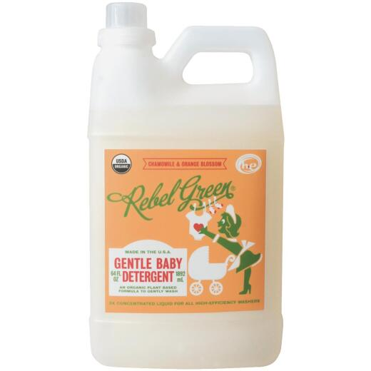 Rebel Green 64 Oz. Chamomile & Orange Blossom Baby Detergent