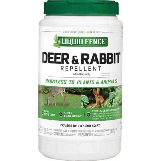 Liquid Fence 2 Lb. Granular Deer & Rabbit Repellent