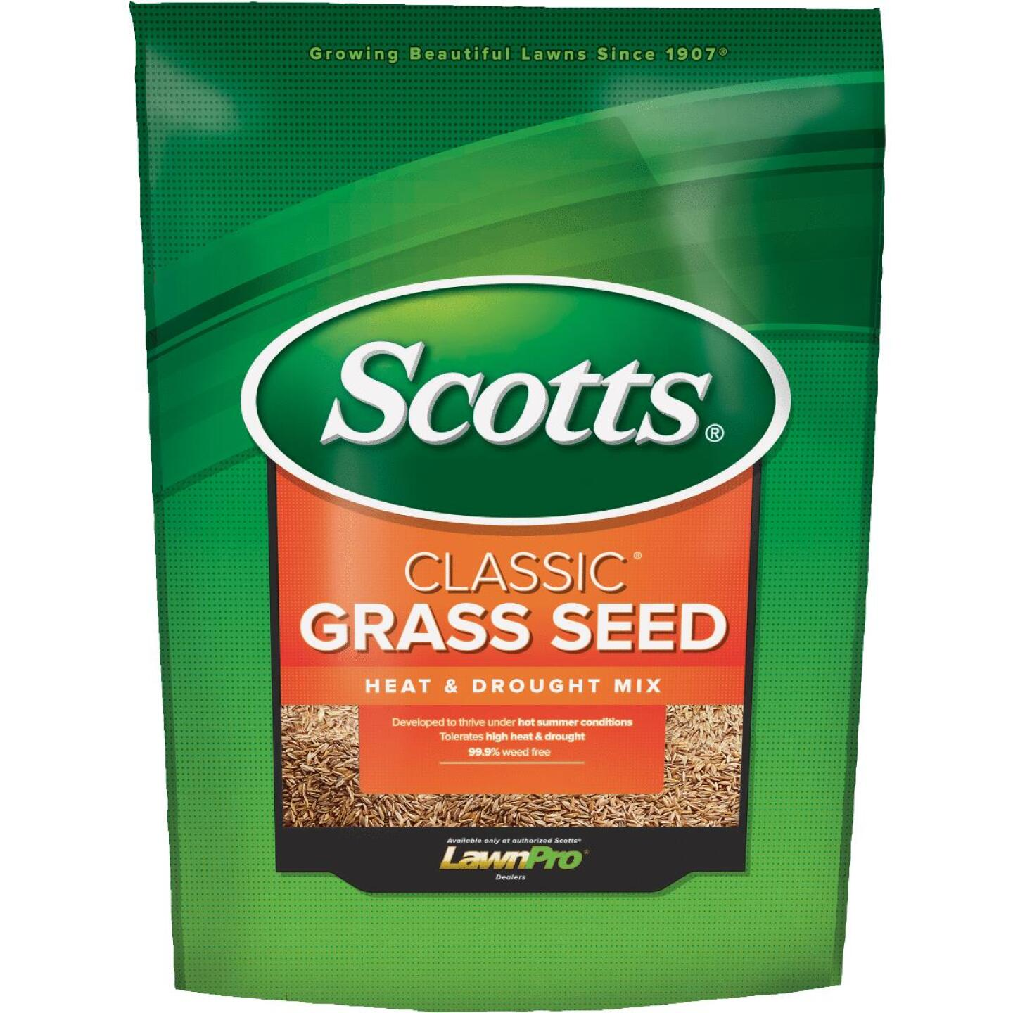 Scotts Classic 7 Lb. 1750 Sq. Ft. Coverage Heat & Drought Grass Seed Image 1