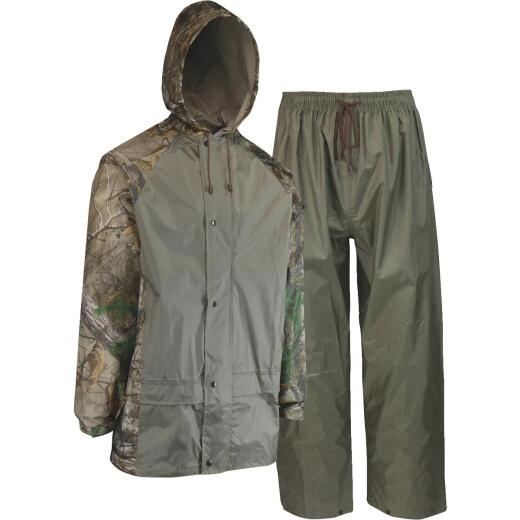 West Chester 3XL 2-Piece RealTree Camo Polyester Rain Suit