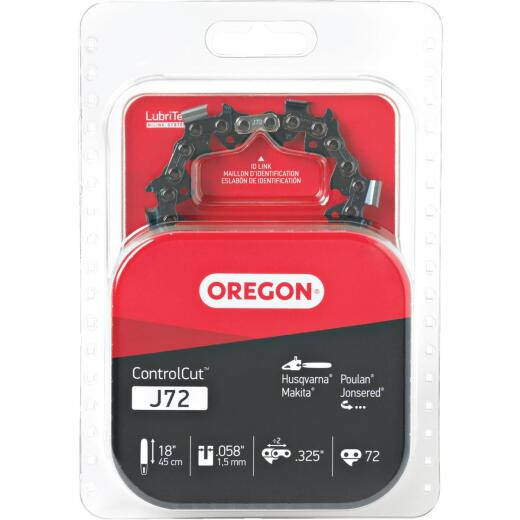 Oregon ControlCut J72 18 In. Chainsaw Chain
