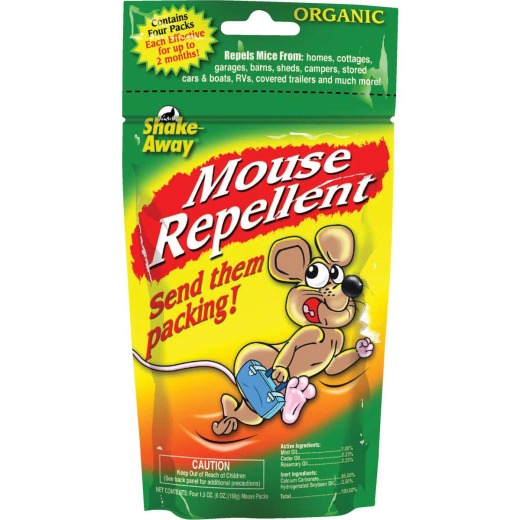 Shake Away 6 Oz. Granular Organic Mouse Repellent (4-Pack)