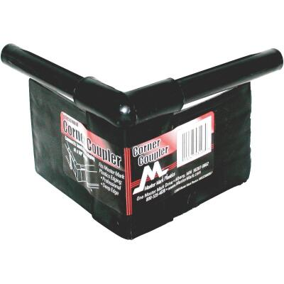 Master Mark Master Gardener 90 Deg. Black Plastic Professional Lawn Edging Coupler