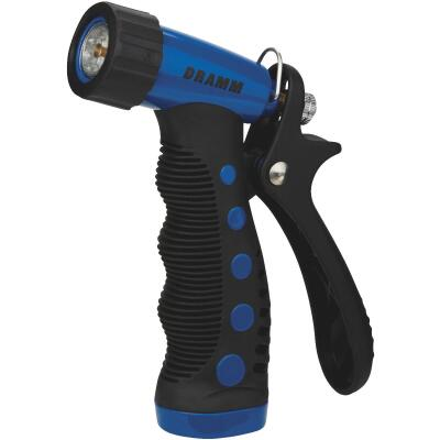Dramm Heavy-Duty Metal Pistol Nozzle, Blue