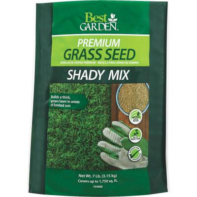 Best Garden 7 Lb. 1750 Sq. Ft. Coverage Shady Grass Seed