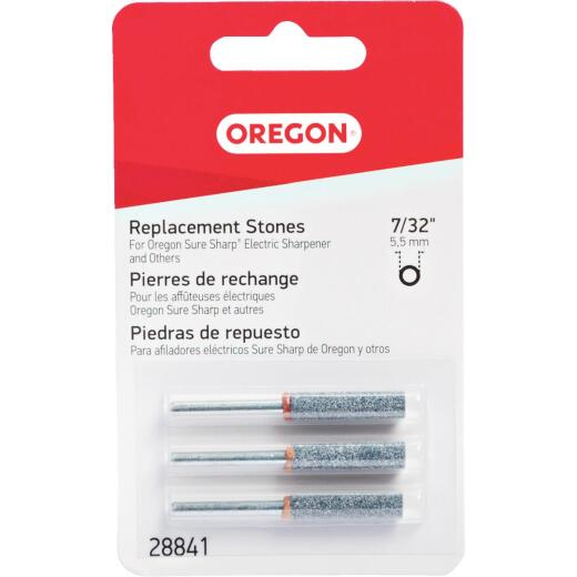 Oregon 7/32 In. Replacement Grinding Stones (3 Count)