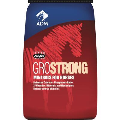 ADM GroStrong 25 Lb. Mineral Horse Feed Supplement