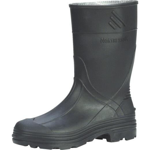 Honeywell Servus Youth Size 4 Black PVC Rubber Boot
