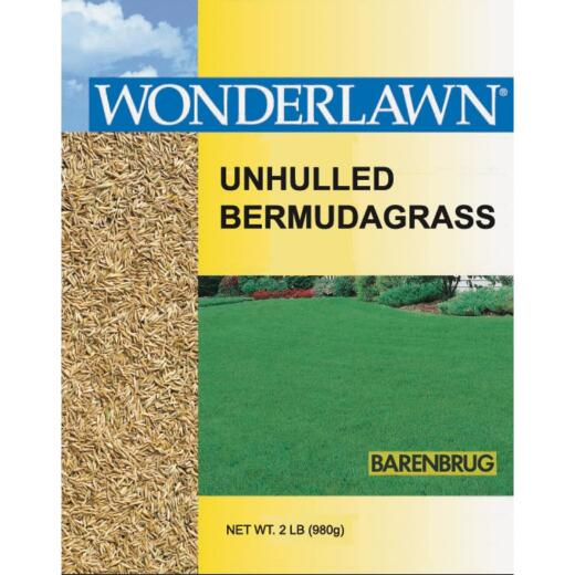 Wonderlawn 2 Lb. 400 Sq. Ft. Coverage 100% Unhulled Bermudagrass Grass Seed
