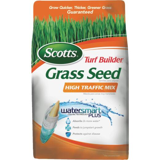 Scotts Turf Builder 7 Lb. Up To 3500 Sq. Ft. Coverage High Traffic Grass Seed