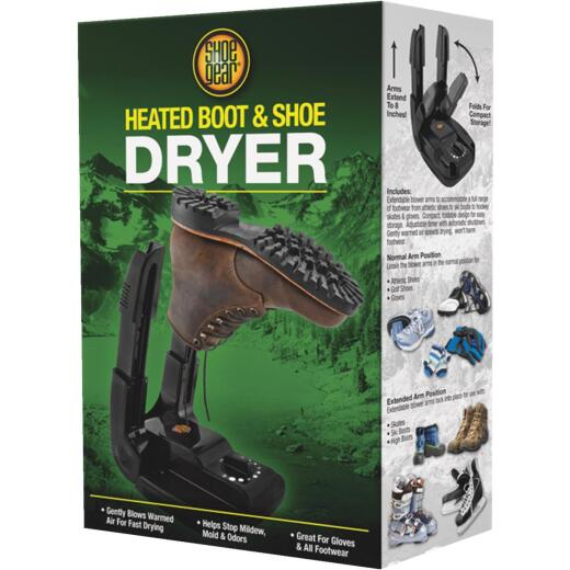 Shoe Gear High Country 8 In. H. Black Plastic Shoe, Glove, & Boot Dryer