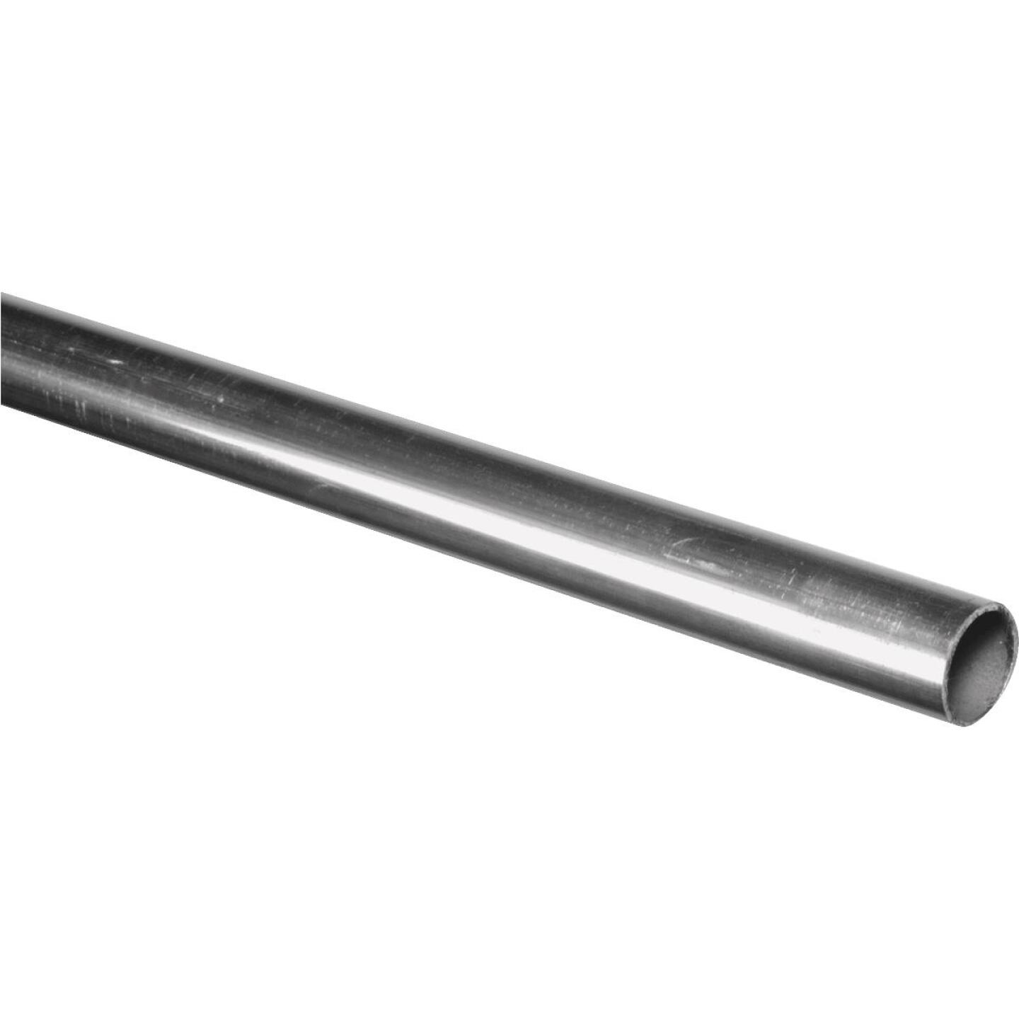 HILLMAN Steelworks Aluminum 1 In. O.D. x 3 Ft. Round Tube Stock Image 1