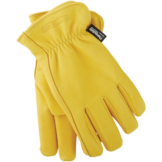 Channellock Men's Large Deerskin Winter Work Glove