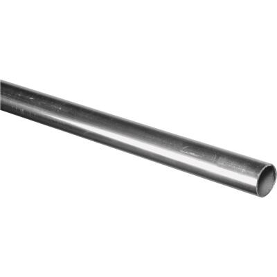 HILLMAN Steelworks Aluminum 1-1/4 In. O.D. x 8 Ft. Round Tube Stock