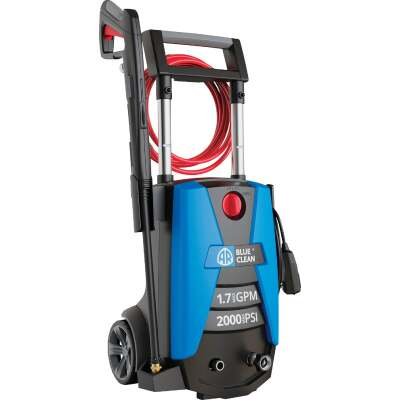 Blue Clean 2000PSI, 1.7GPM Cold Water Electric Pressure Washer