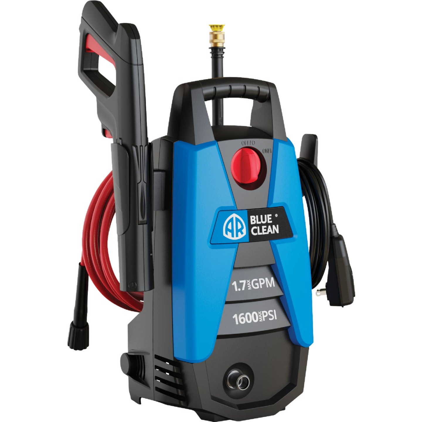 Blue Clean 1600 psi 1.7 gpm Cold Water Electric Pressure Washer Image 1