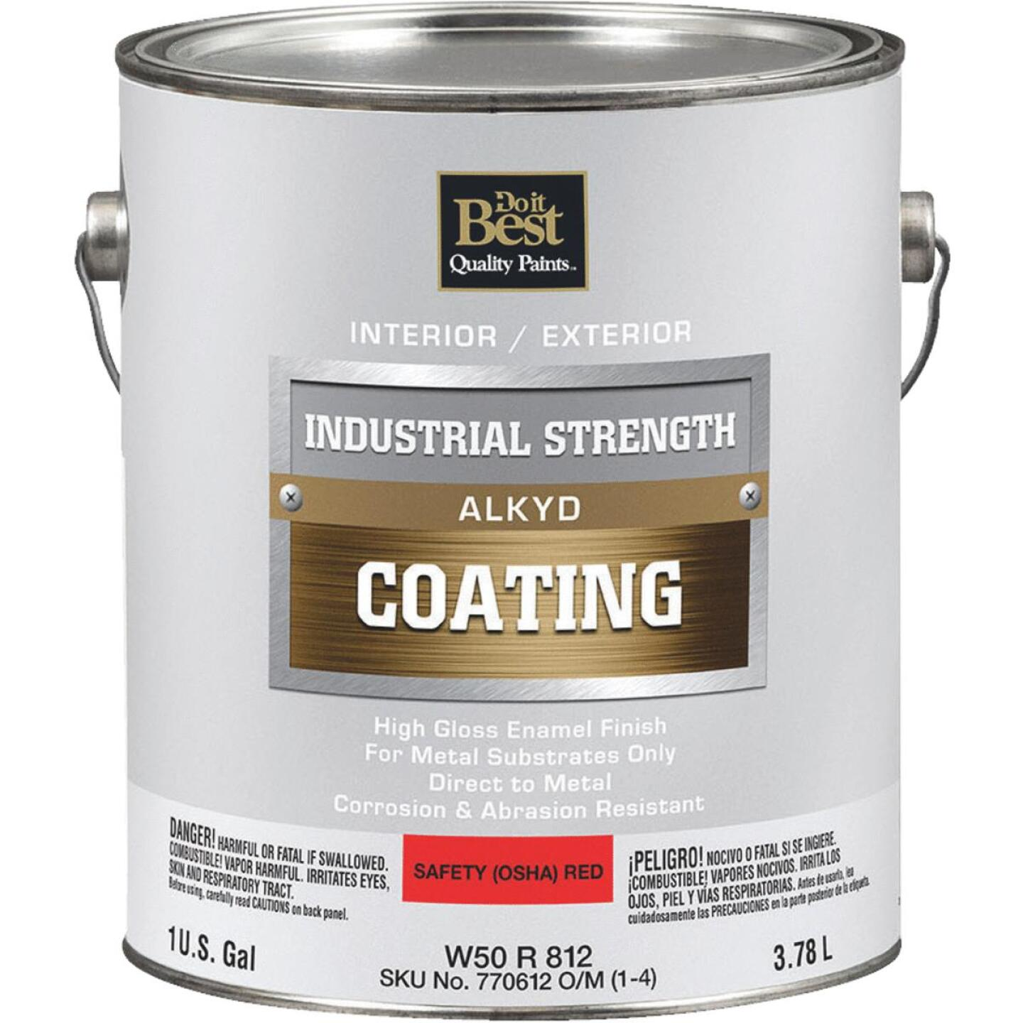 Do it Best Alkyd Industrial Coating, Osha Red, 1 Gal. Image 1