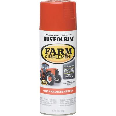 Rust-Oleum 12 Oz. Allis Chambers Orange Farm & Implement Spray Paint