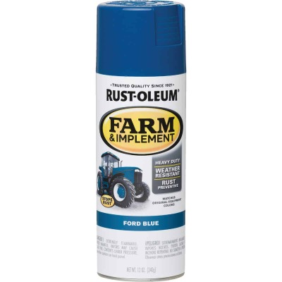 Rust-Oleum 12 Oz. Ford Blue Farm & Implement Spray Paint