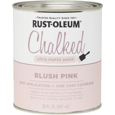 Rust-Oleum Chalked Blush Pink Ultra Matte 30 Oz. Chalk Paint