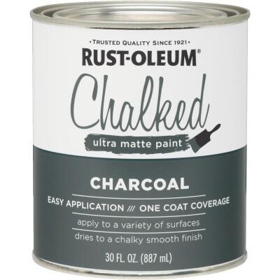 Rust-Oleum Chalked Charcoal Ultra Matte 30 Oz. Chalk Paint