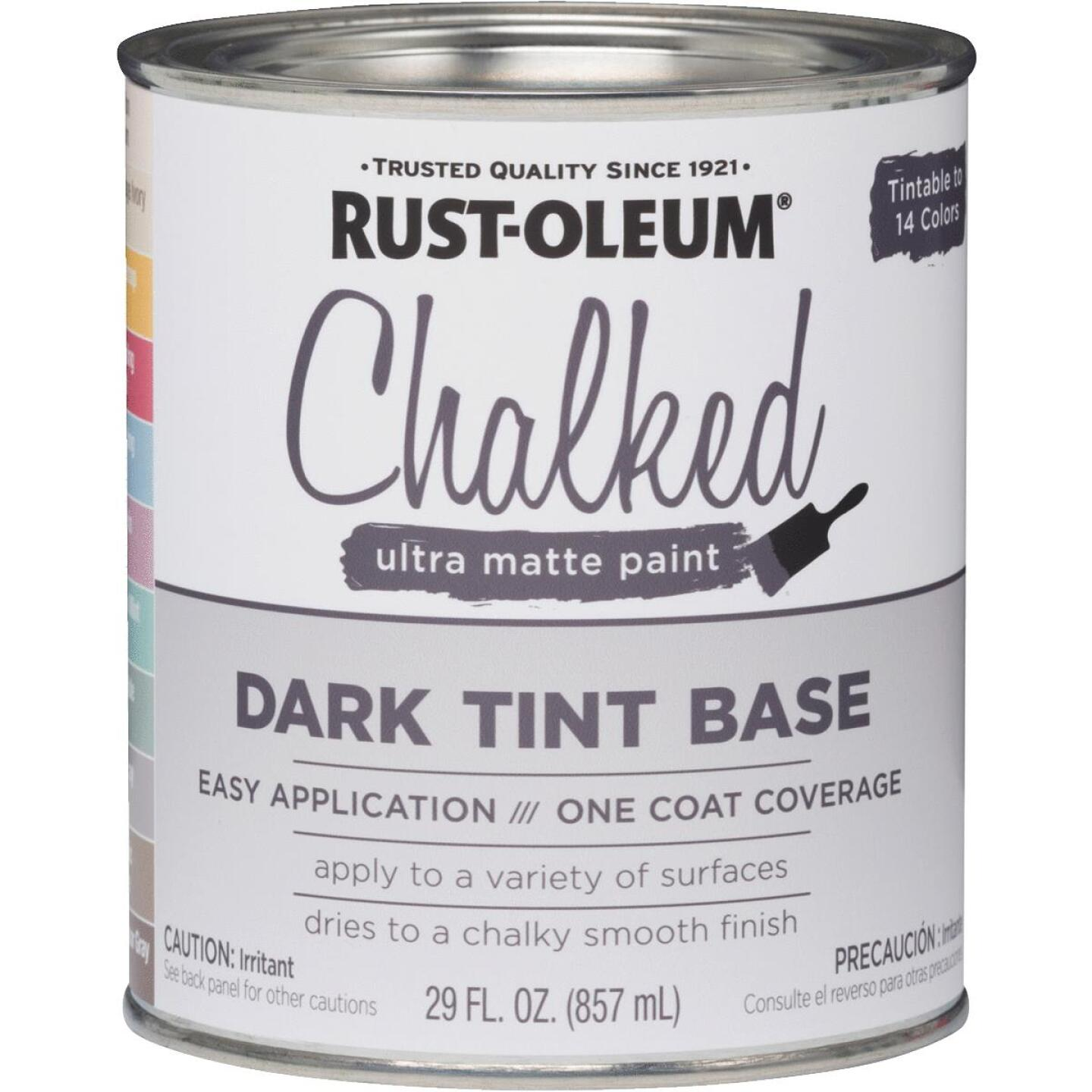 Rust-Oleum Chalked Dark Tint Ultra Matte 29 Oz. Chalk Paint Image 1