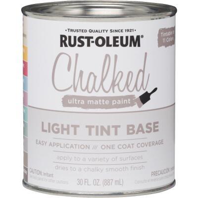 Rust-Oleum Chalked Light Tint Ultra Matte 29 Oz. Chalk Paint