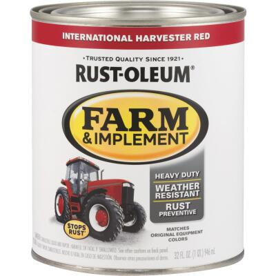 Rust-Oleum 1 Quart International Harvester Red Gloss Farm & Implement Enamel
