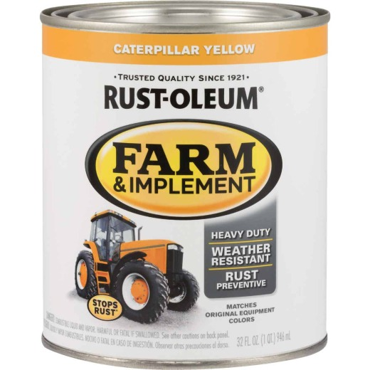 Rust-Oleum 1 Quart Caterpillar Yellow Gloss Farm & Implement Enamel