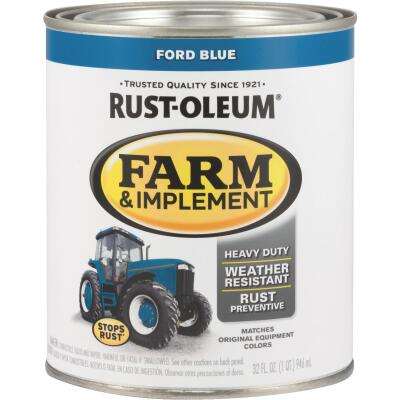 Rust-Oleum 1 Quart Ford Blue Gloss Farm & Implement Enamel